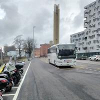 Basel bus stop RJ1