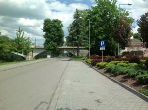 CZT bus stop Auschwitz 2