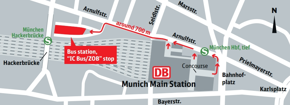 how to get from munich airport to munich central station