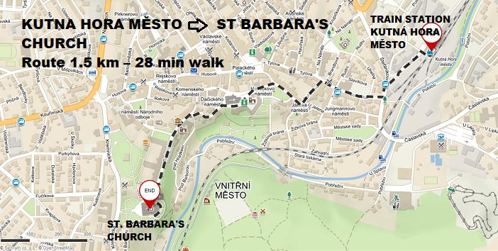 Kutna hora to Barbara