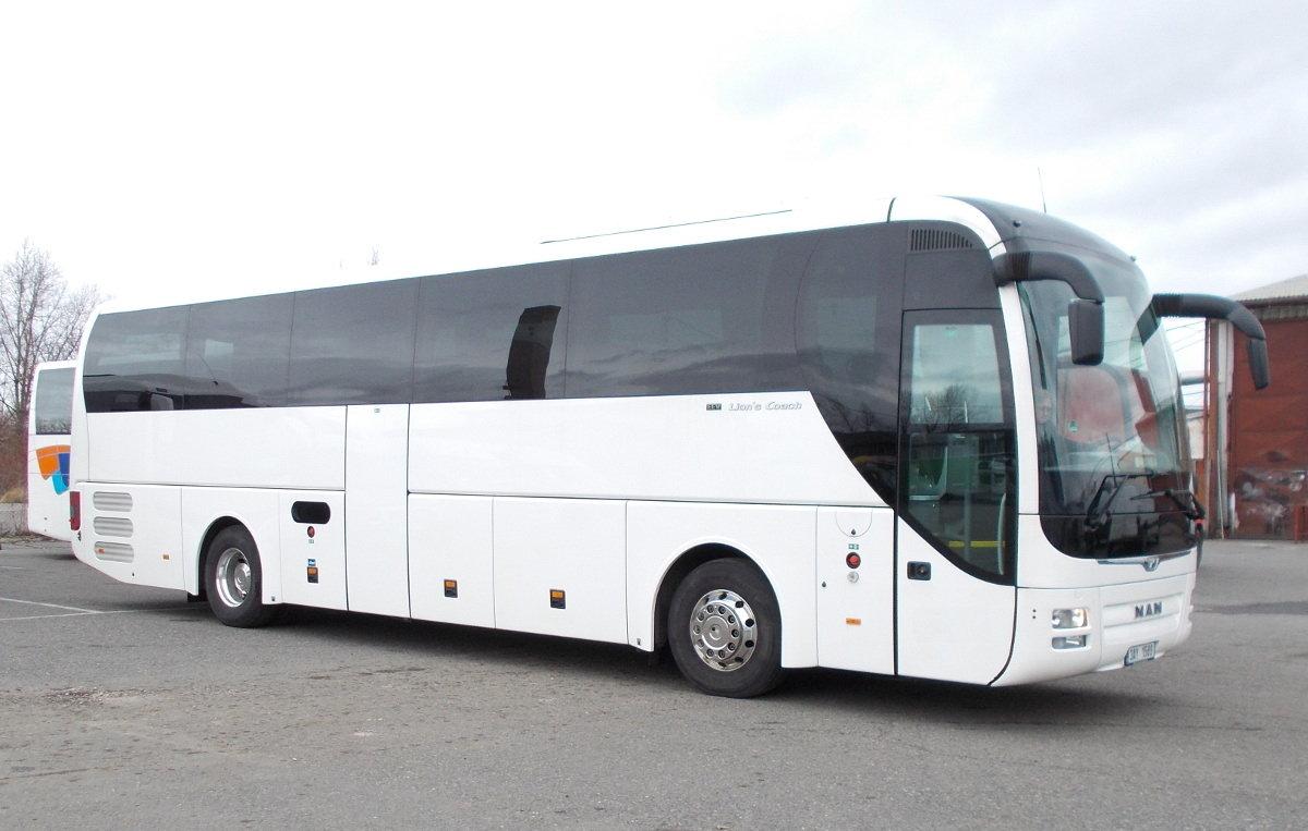 Bus 50 Pax Man Lions Coach 2014 Images