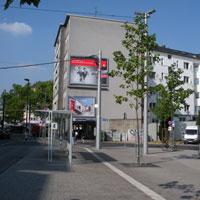 SA bus stop Düsseldorf 1