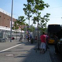 SA bus stop Düsseldorf 3
