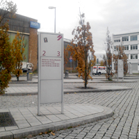 SA bus stop Dresden Airport 1