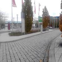 SA bus stop Dresden Airport 2