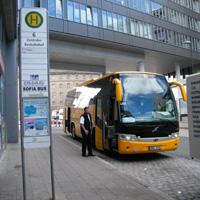 bus stop n rnberg zob bahnhofstrasse nuremberg main bus terminal. Black Bedroom Furniture Sets. Home Design Ideas