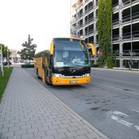 SA bus stop Nuremberg Airport 1
