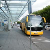 SA bus stop Nuremberg Airport 2