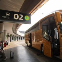 SA bus stop vienna airport 1