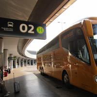 SA bus stop vienna airport 2