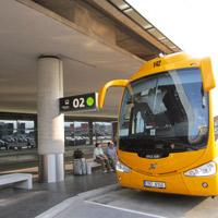 SA bus stop vienna airport 3