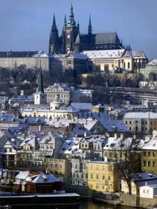 Prague - Castle Panorama in summer