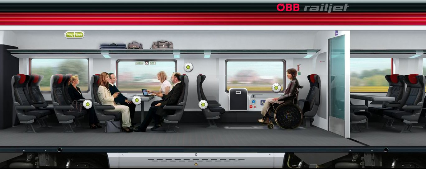 Railjet business class source austrian railways
