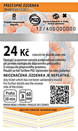 Ticket to Prague
