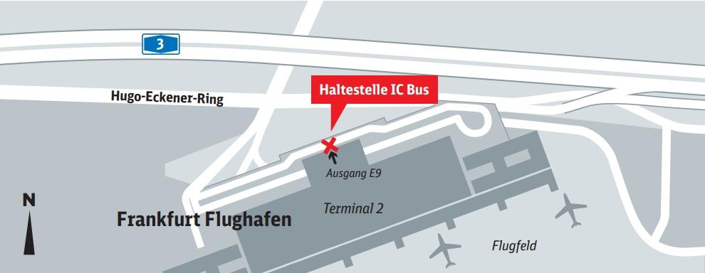bus stop frankfurt m flughafen terminal 2 frankfurt airport terminal 2 bus station. Black Bedroom Furniture Sets. Home Design Ideas