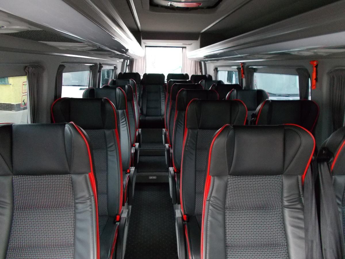 Location de minibus prague