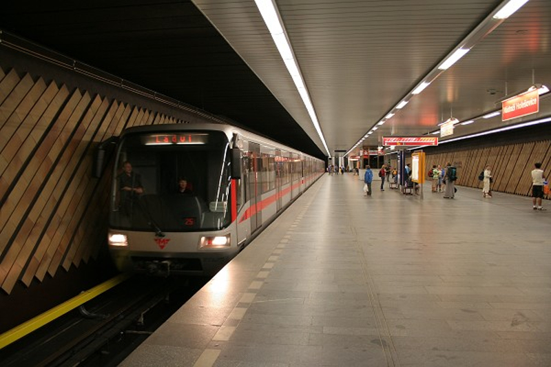 Image result for Prague metro