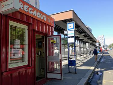 Ultra Bus stop: Prague Zelivskeho bus stop (Želivského) - Prague UC06