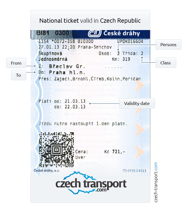 International/domestic tickets