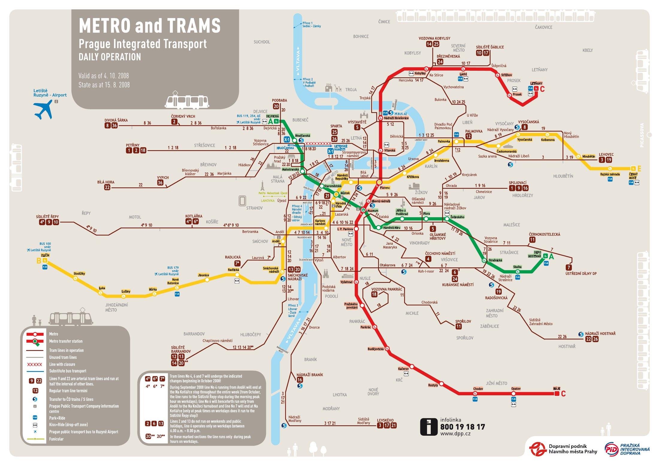 Metro Prag Karte.Zličín Prager Metro Station