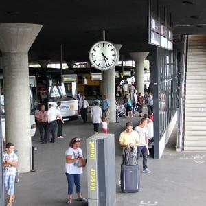 Bus Stop M 252 Nchen Zob Hackerbruecke Munich Main Bus